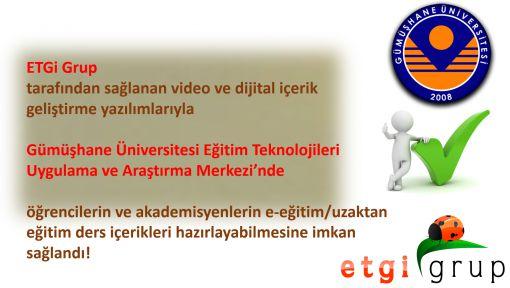 Gümüşhane Üniversitesi Video ve Dijital İçerik Geliştirme Altyapısı Kurdu.
