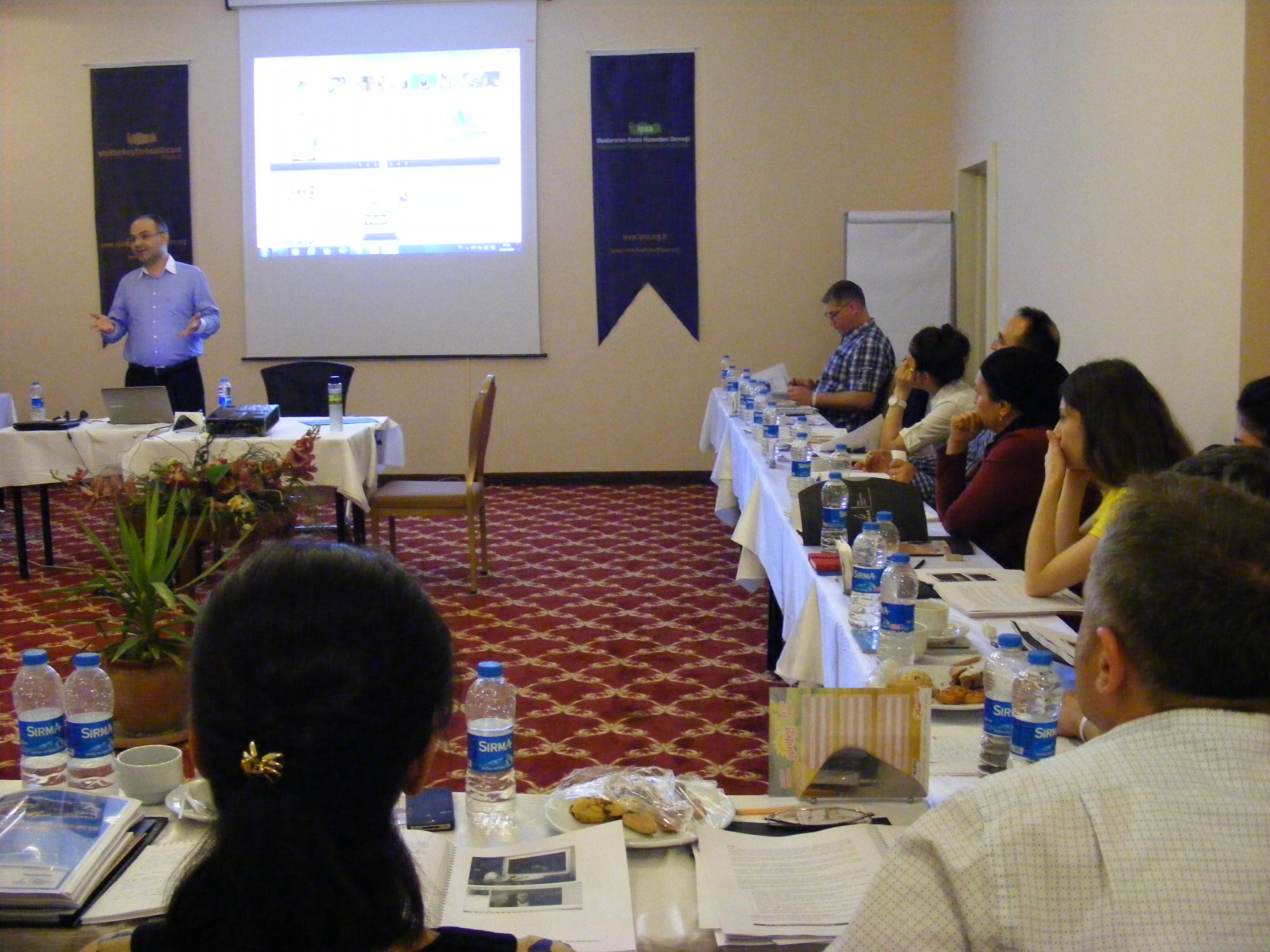 Sağlık Turizminde Tele-Konsültasyon ve Video Konferans Sistemlerinin Kullanımını Canlı Canlı Gösterdik